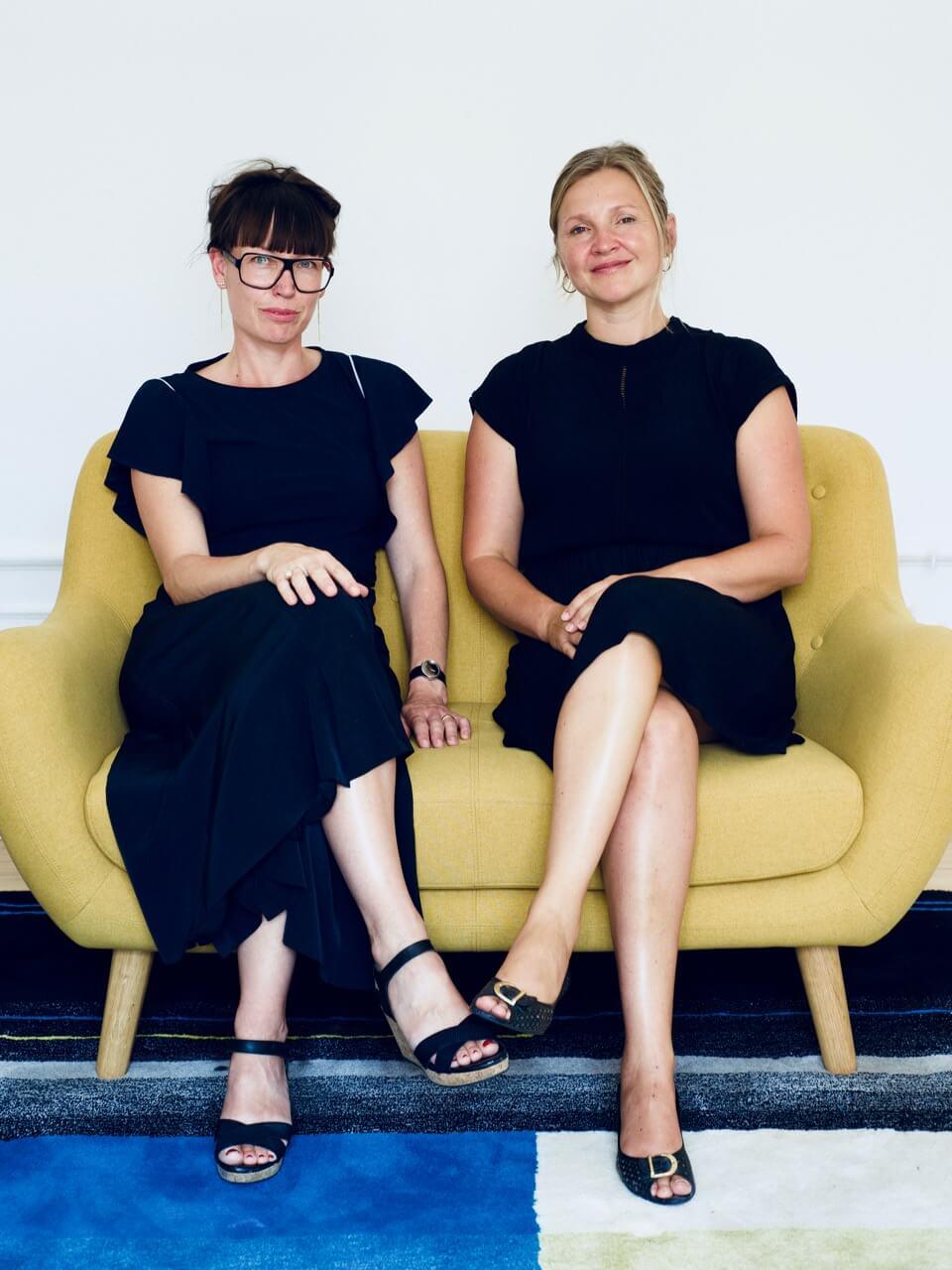 Nana Lund Nørgaard og Anne Blom Corlin